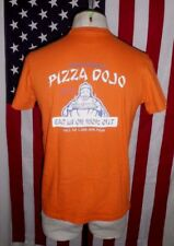 VTG 90s Abercrombie Fitch RARE Pizza Dojo Muscle T-Shirt MED eat in or wok out