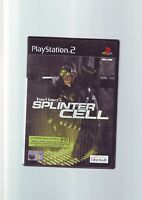 TOM CLANCY'S SPLINTER CELL - SONY PLAYSTATION 2 PS2 GAME - ORIGINAL & COMPLETE