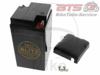 Motorrad Batterie 0811 Gel schwarz 6V-BMW R 50 50/2 50S 51 51/2 51/3 60 69S 67/3