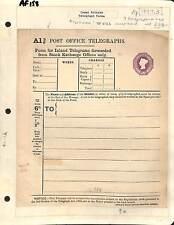 Af158 1897 GB QV TELEGRAFO form/inutilizzato