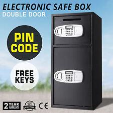 Double Door Digital Electronic Keypad Lock Security Safe Deposit Security Safe