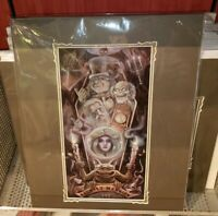 Disney Parks Haunted Mansion 50th Ghoulish Delight Print Wilson Ghosts Leota New