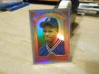 Ken Griffey Jr. 1998 Leaf 50th Anniversary Heading for the Hall SAMPLE/PROMO #8