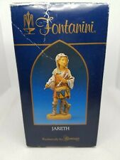Fontanini Roman Nativity Village Figurine - Jareth the Drummer Boy with card