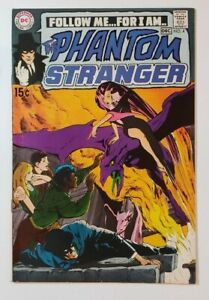 PHANTOM STRANGER #4 (F/VF) 7.0 1970 NEAL ADAMS COVER ART; BRONZE AGE DC COMICS!