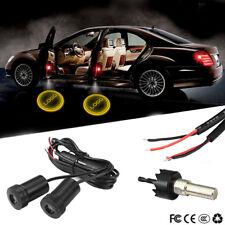 2× Car Door LED Courtesy Laser Projector Logo Ghost Shadow Lights For Alfa Romeo