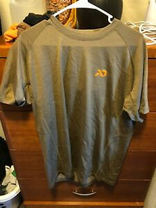 First Lite Wick T- short sleeve - Large - Brown - Base Layer