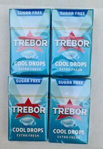 TREBOR COOL DROPS EXTRA FRESH. 12 PACKS. 28g EACH.BEST BEFORE :17/02/2022.
