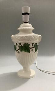 Wedgwood Of Etruria & Barlaston Creamware Napoleon Ivy Lamp Base