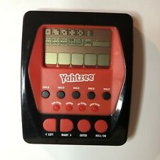 Hasbro Yahtzee Electronic Handheld Rolling The Dice Game Red 2012 Tested Works