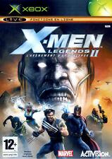 X-MEN LEGENDS II 2 L'AVÈNEMENT D'APOCALYPSE XBOX NEUF SOUS BLISTER D'ORIGINE VF