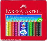 Farbstifte Colour-Grip 2001 24er Metalletui Faber-Castell Farbstift Buntstift
