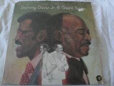 SAMMY DAVIS JR. & COUNT BASIE VINYL LP ALBUM 1973 MGM RECORDS MY SHINING HOUR