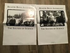 Beastie Boys 1999 Anthology: Sounds of Science 2-Sided Promo Poster 18 x 24