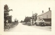 c1930 RPPC Postcard Street Scene Eastwood General Store Unknown US Location