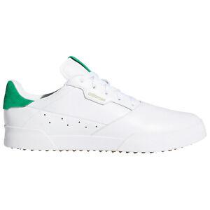 adidas Mens Adicross Retro Golf Shoes Spikeless Water Repellent Lightweight