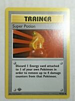 Pokemon Card 1st Edition Shadowless Super Potion 90/102 FREE SHIPPING!