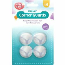 4pc Baby Child Kid Safety Desk Furniture Rubber Corner Edge Covers Protector