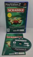 Scrabble Interactive Video Game for Sony PlayStation 2 PS2 PAL TESTED