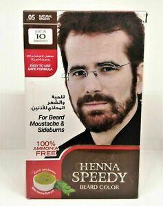 Henna Speedy Beard Colour Natural Brown 05 Just 10 Minutes 20g+20g