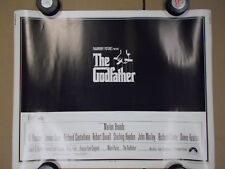 1972 The Godfather VINTAGE ORIGINAL HALF SHEET 22X28 Movie Poster