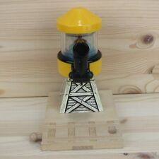 YELLOW WATER TOWER - THOMAS WOODEN TRAIN TRACK ACCESSORY - 2001 LEARNING CURVE