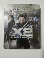 Sealed Tin Collector X2: X-Men United (Blu-ray Disc, 2014)