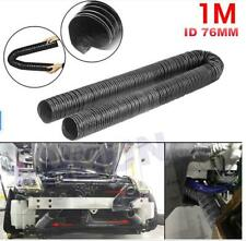 Silicone Air Ducting Flexible Brake Cold Induction Intake Pipe Hose 76mm 1m3.3ft