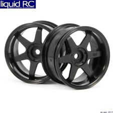 HPI Racing 3846 Te37 Wheels 26mm black 6mm Offset/26mm Tires (2)