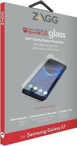 ZAGG Invisible Shield HD Glass Screen Protector for Samsung Galaxy S7 - New