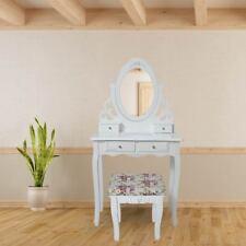 Coiffeuse Table de Maquillage Tabouret Miroir Commode Vanité Meuble Tiroirs