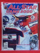NHL TORONTO MAPLE LEAFS ALL-STAR GAME PROGRAM AUTO YVAN COURNOYER, BOBBY HULL