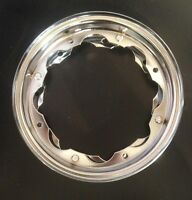 "Wheel split rim 10"" chrome for Lambretta by F.A. Italia"
