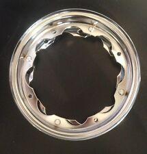 """Wheel rim 10"""" split chrome for Lambretta by F.A. Italia"""