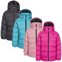 Trespass Girls Amira Warm Padded Waterproof Winter Jacket Childrens Quilted Coat
