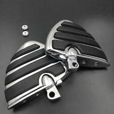 Wing Foot Peg Rest For Harley Road King CVO Classic EFI FLHRCI Custom FLHRS FLHR