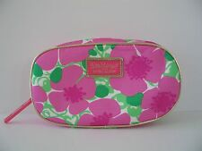 Lilly Pulitzer for Estee Lauder Pink Flowered Zippered Make up Pouch
