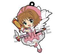 Card Captor Sakura Pic-Lil! Kinomoto Sakura Trading Rubber Strap Phone Charm A