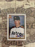 💥⚾️1991 Topps Traded Jeff Bagwell Houston Astros #4T Baseball Card🇺🇸🇺🇸🇺🇸