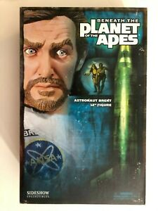 """SIDESHOW PLANET OF THE APES ASTRONAUT BRENT JAMES FRANCISCUS 12"""" 1/6 FIGURE SET"""