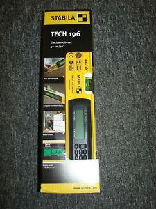 "Stabila 196-2 Electronic Level 40cm / 16"" IP65 Rated 17705"