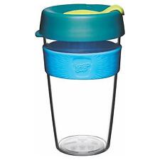 KeepCup Original Clear Edition Reusuable Coffee Cup Travel Mug, 454ml 16oz Ozone