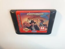 Young Indiana Jones Instruments of Chaos Sega Genesis Video Game Cart FAST SHIP!