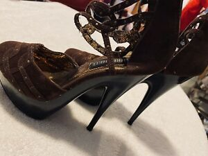 Brand New Super Sexy Heels By FAHRENHEIT- Size 5 1/2 Heel Height Is 5 1/2 Inches
