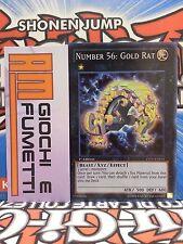 NUMERO 56 GOLD RAT in inglese YUGIOH super rara ORIGINALE konami