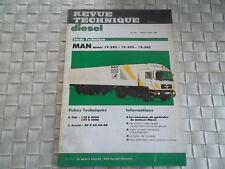 REVUE TECHNIQUE CAMION MAN SERIE 19.292 - 19.332 - 19.362