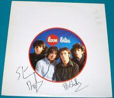 Buzzcocks - Love Bites Original UK LP Autographed Pete & Steve with COA KBD
