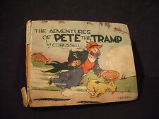 Pete the Tramp Big Little Book Saalfield Pub CD Russell Vintage 1935 Not Graded