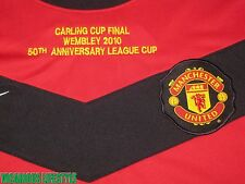 BNWT ROONEY #10 Manchester United Carling Cup Final 2010 Long-Sleeves Shirt XL