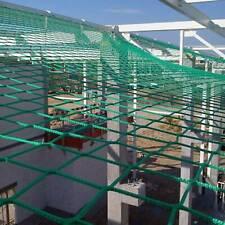 1 x Seitenschutznetz 2x5 m Ger/üst Netz f/ür Dachfangger/üste Fangnetz gr/ün NEU